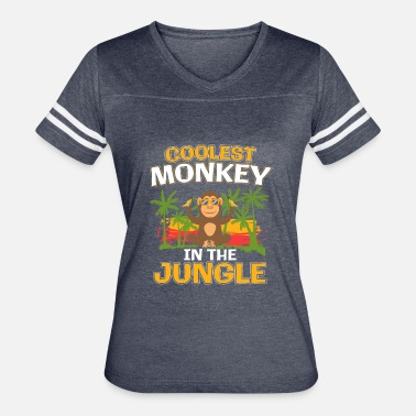 Monkey Jungle Coolest Monkey In The Jungle Gift - Women's Vintage Sport T-Shirt