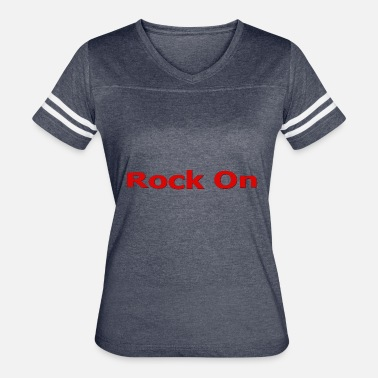 Red Rocks Rock On RED - Women's Vintage Sport T-Shirt