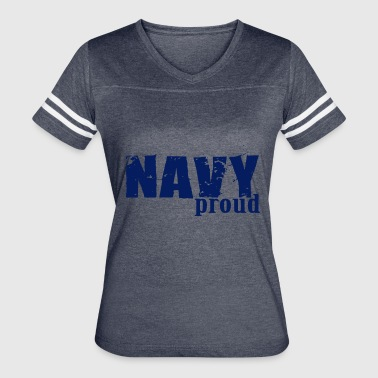 Civil Rights Navy Proud - USA Patriotic Proud Veterans Day - Women's Vintage Sport T-Shirt