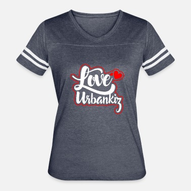 Urbankiz love_urbankiz_color - Women's Vintage Sport T-Shirt