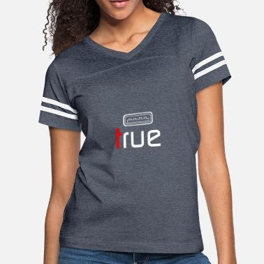 True Metal True - Women's Vintage Sport T-Shirt