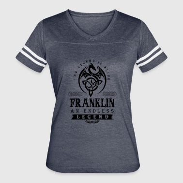 FRANKLIN - Women's Vintage Sport T-Shirt