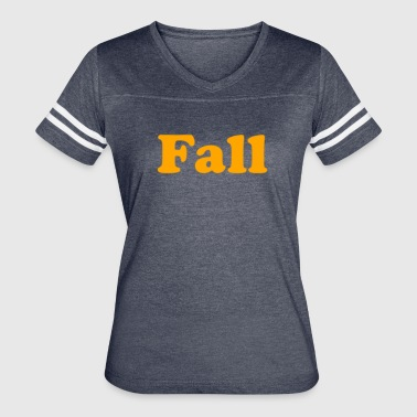 Fall Of The Wall Fall - Women's Vintage Sport T-Shirt