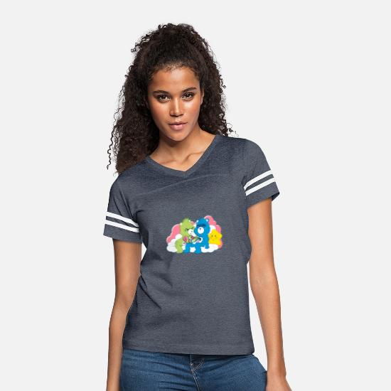 Care T-Shirts - Care Bears Ink T shirt - Women's Vintage Sport T-Shirt vintage navy/white