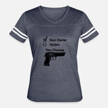 Gun Owner Or Victim gun owner victim - Women's Vintage Sport T-Shirt