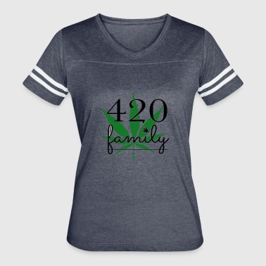420 Family Weed - Women's Vintage Sport T-Shirt