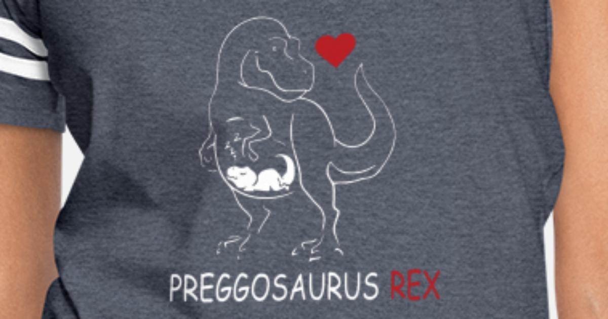 238ed9b0f5b6d Pregosaurus Preggosaurus Cute Funny Women's Vintage Sport T-Shirt |  Spreadshirt