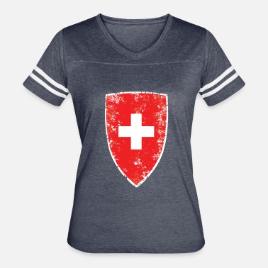 Swiss Flag Swiss Flag - Women's Vintage Sport T-Shirt