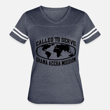 Accra Ghana Accra Mission - LDS Mission CTSW - Women's Vintage Sport T-Shirt