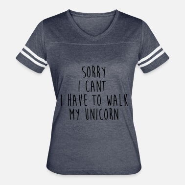 Walk My Unicorn Walk my unicorn - Women's Vintage Sport T-Shirt