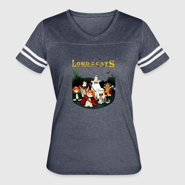 LORD OF THE CATS - Women's Vintage Sport T-Shirt