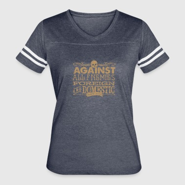 Against All Enemies foreign - Women's Vintage Sport T-Shirt