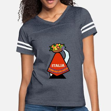 Italian Welcome to Italy! - Women's Vintage Sport T-Shirt