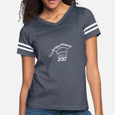 College Class of 2017 College Graduation - Women's Vintage Sport T-Shirt