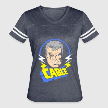 Rogue Cable • X-Men Cartoon - Women's Vintage Sport T-Shirt