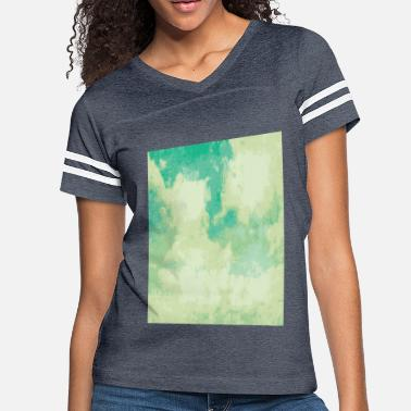 Famous Painting VINTAGE CLOUDS Pop Art - Women's Vintage Sport T-Shirt
