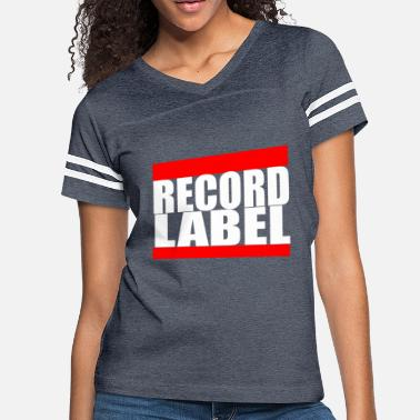 Record Label RECORD LABEL - Women's Vintage Sport T-Shirt