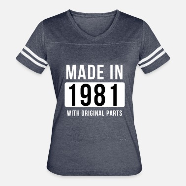 1981 Made In 1981 - Women's Vintage Sport T-Shirt
