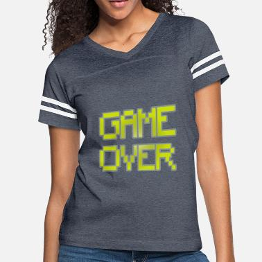 Gaming Retro Gaming Game Over - Women's Vintage Sport T-Shirt