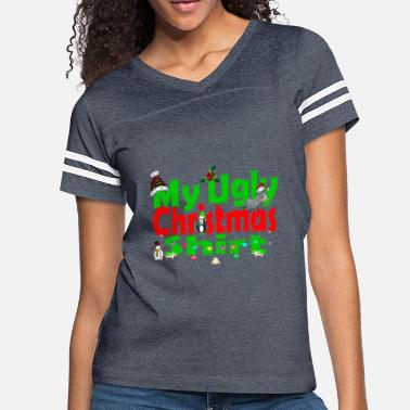 Ugly Ugly Merry Christmas - Women's Vintage Sport T-Shirt