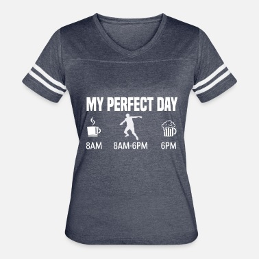 Discus Athletics My perfect day - discus throw gift - Women's Vintage Sport T-Shirt