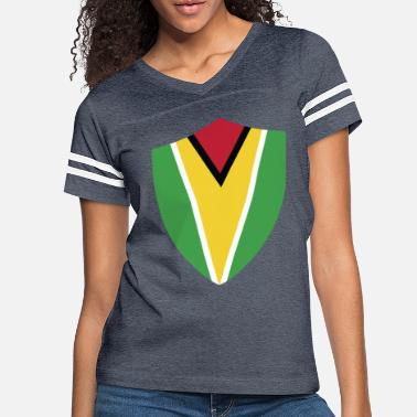 Flag Of Guyana GUYANA SIGN - guyana crew - Women's Vintage Sport T-Shirt