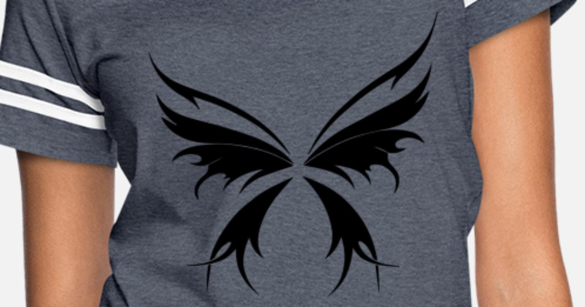 b15454d7 Tattoo Tribal Butterfly Wings Women's Vintage Sport T-Shirt | Spreadshirt