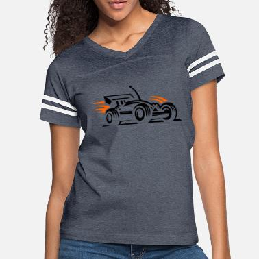 Racing Car racing car - Women's Vintage Sport T-Shirt