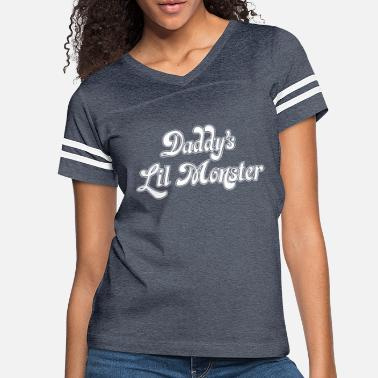 Monster Daddy s Lil Monster - Women's Vintage Sport T-Shirt