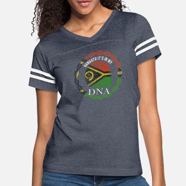 Vanuatu Vanuatu Its In My DNA - Women's Vintage Sport T-Shirt