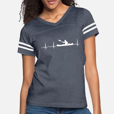 93829d3a Kayak paddle heartbeat canoe canoeing water sport Kayak - Women's  Vintage Sport. Women's Vintage Sport T-Shirt