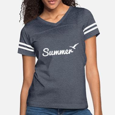 Summer - Women's Vintage Sport T-Shirt