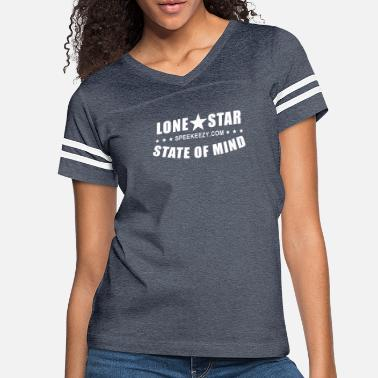 Lone Star State Lone Star State of Mind - Women's Vintage Sport T-Shirt