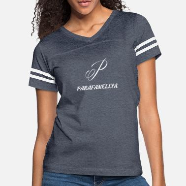 Stylish Parafanellya Stylish White - Women's Vintage Sport T-Shirt
