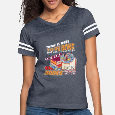 Book Children Children's Books - Women's Vintage Sport T-Shirt