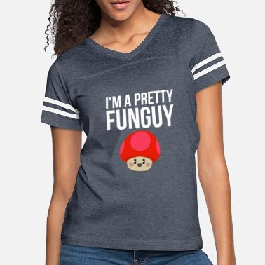 43ad25d7a1 Chef Pun Funny Funguy Mushroom Fun Guy Pun Chef Puns - Women's. Women's  Vintage Sport T-Shirt