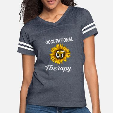 Therapist Sunflower Occupational Therapy Shirt OT Therapist - Women's Vintage Sport T-Shirt