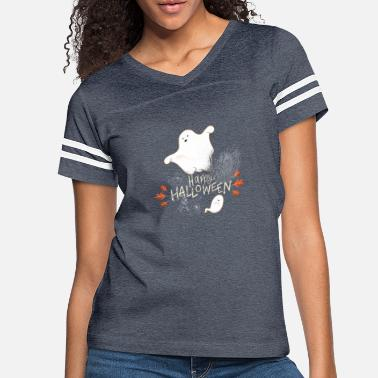 Happy Halloween Cutie Ghost - Women's Vintage Sport T-Shirt