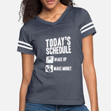 Dollar Money is the way to happiness - Women's Vintage Sport T-Shirt