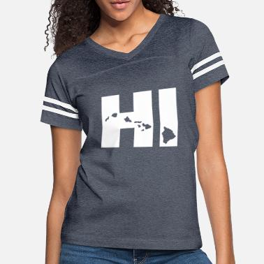 Hawaii Hawaii - Women's Vintage Sport T-Shirt