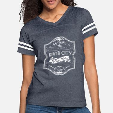 Music Hall River City Pool Hall - The Music Man - Women's Vintage Sport T-Shirt