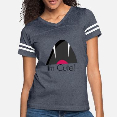 Mouth Im cute - Women's Vintage Sport T-Shirt