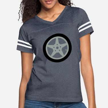 Car Tires Car tire - Women's Vintage Sport T-Shirt