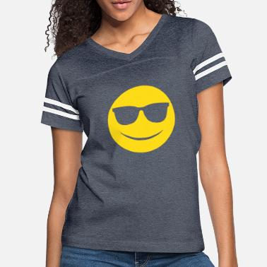 Emoticon Happy Emoticon - Women's Vintage Sport T-Shirt