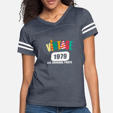 Original Vintage 1979 All Original Parts - Women's Vintage Sport T-Shirt