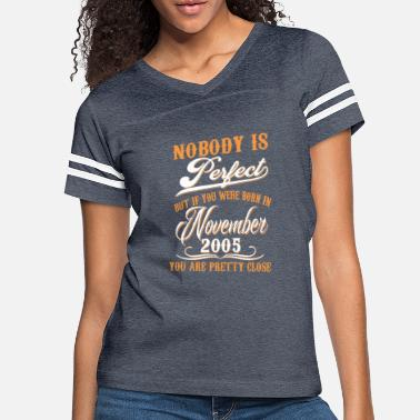 2005 If You Born In November 2005 - Women's Vintage Sport T-Shirt