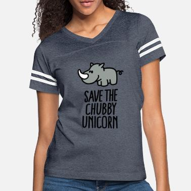 Save Save the chubby unicorn - Women's Vintage Sport T-Shirt