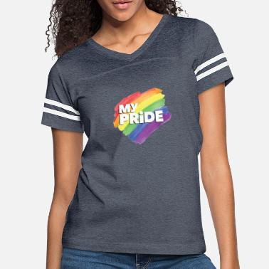 Pride Magazine Sounds Gay I m In - Women's Vintage Sport T-Shirt
