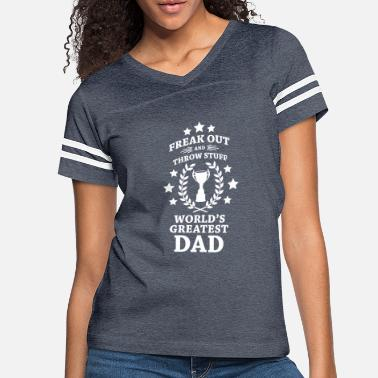 Phish Fuego World's Greatest Dad - Women's Vintage Sport T-Shirt
