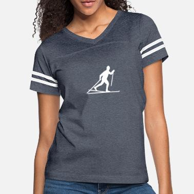 Country Cross-country skiing - Women's Vintage Sport T-Shirt